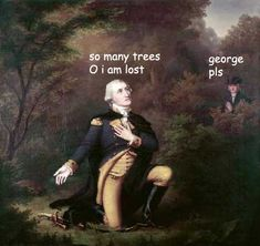 rally 'round the history, The captioned adventures of George Washington... these are hilarious!
