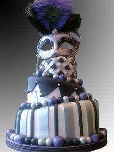 images of masquerade cakes | In: Masquerade Cake in album: Bridal Shower