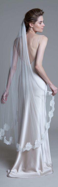 47 best Silk Tulle Wedding Veils images on Pinterest | Wedding veils ...