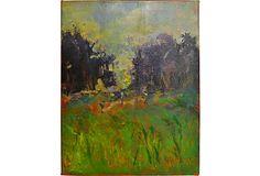 I love this painting! Beyond the Trees on OneKingsLane.com