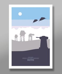 Force Inspired Star Wars Inspirited Skyline by BigTimePosters