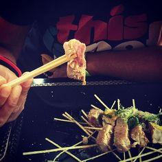Tataki de tonyina per celebrar el Sant! Dinar al Japo! by annapemi
