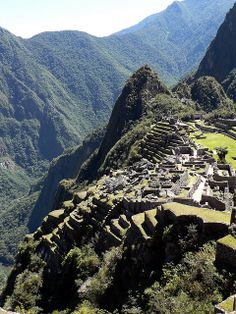 Machu Picchu, West Side  Peru