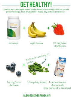 Get Healthy! Great Arbonne Protein Shake recipe.   To order contact: Gotwin van Santen, Arbonne Independent Consultant