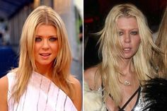 10 fotos nos muestran el impresionante cambio de algunas celebridades antes y después de las drogas