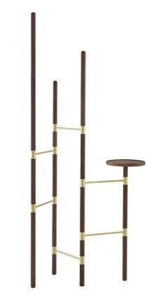 Estenda Coat Rack by Ligne Roset Modern Coat Racks Los Angeles Smart Furniture, Ikea Furniture, Modern Furniture, Furniture Design, Ligne Roset, Clothes Stand, Wall Mounted Coat Rack, Shelf Design, Ladder Decor
