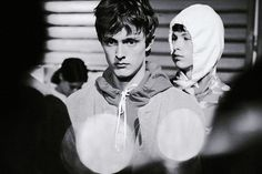 Gosha Rubchinskiy SS15 Mens collections, Dazed backstage