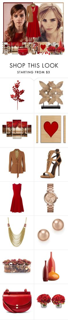 """Emma Watson - Contest!"" by asia-12 ❤ liked on Polyvore featuring ASOS, Barclay Butera, Trademark Fine Art, Emma Watson, Topshop, Giuseppe Zanotti, Dolce&Gabbana, Michael Kors, Bloomingdale's and John-Richard"