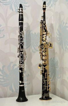 """The Two Sopranos - Clarinet and Saxophone"" by BlueMidnight 