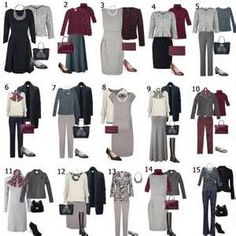 Image detail for -how to build a capsule wardrobe
