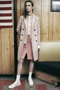 Rag & Bone Resort '15 is all about blush pink's