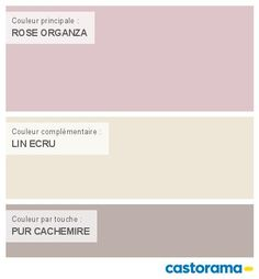 Castorama Nuancier Peinture - Mon harmonie Peinture ROSE ORGANZA satin_velours de DULUX VALENTINE Couture