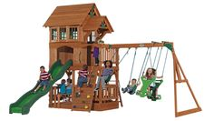 Liberty All Cedar Swingset