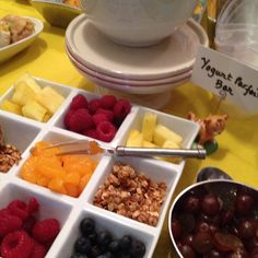 Visual Catering Menu:  Yogurt Parfait Bar  Freshmade NYC, Catering & Events for Kids www.freshmadenyc.com