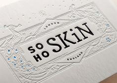 Beautiful Letterpress Designs by Joe White | Inspiration Grid | Design Inspiration