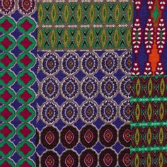 Tissu jersey patchwork violet