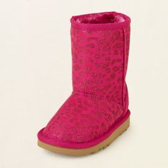 baby girl - shoes - animal-print chalet boot | Children's Clothing | Kids Clothes | The Children's Place