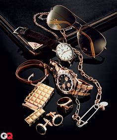 ♂ Touch of Gold. Accesorios.