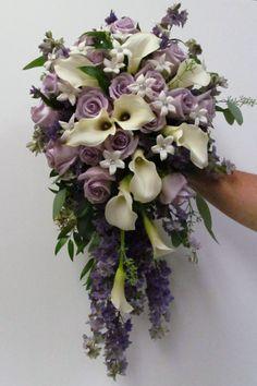 Cascade Bridal Bouquet | Buffalo Wedding & Event Flowers by ...