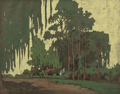 Jacobus Hendrik Pierneef 'House, Old Pretoria (Vermeulen Street 1885)' | 1917