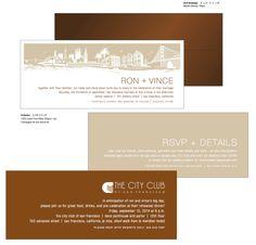Wedding Invitation/website/rehearsal dinner card/ envelope