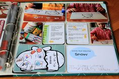 I love how this Mom documents her homeschooling. So inspiring! She has a great blog too!