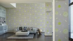 Wallpapers in the living room; A.S. Création Wallpaper 305363