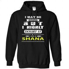 SHANA - #hoodie schnittmuster #christmas sweater. MORE INFO => https://www.sunfrog.com/Names/SHANA-7283-Black-22531299-Hoodie.html?68278
