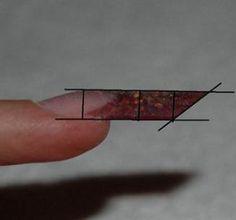 Acrylic Nails At Home, Acrylic Nail Shapes, Best Acrylic Nails, Nail Courses, Nail Art Designs Images, Edge Nails, Nail Techniques, Pointy Nails, Nail Forms