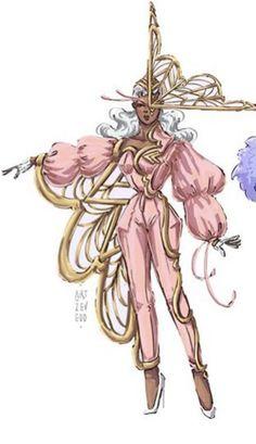 Fashion Illustration Sketches, Fashion Design Sketches, Illustration Art, Ancient Alphabets, Dress Sketches, Character Design Inspiration, Art Inspo, Fashion Art, Character Art