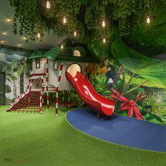 Indoor Play Centre, Indoor Play Areas, Kindergarten Interior, Kindergarten Design, Soft Play Area, Kids Play Area, Kids Indoor Playground, Playground Design, Piscina Playground