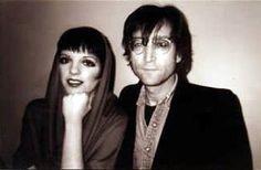John with Liza MInelli