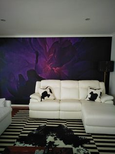 Finally was able to place my own design wallpaper in my lounge room, without no mess no fuss or glue. When i want a change i will just peel of and place the next design that takes my fancy! Designer Wallpaper, Art Decor, Home Decor, Canvas Art, Lounge, Couch, Fancy, Room, Furniture