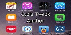 Anchor tweaki, popüler tweak Gridlock gibi Ana ekranda bulunan simgeleri istediğiniz gibi yerleştirmenize olanak sağlar. http://www.cydiatr.com/anchor.html