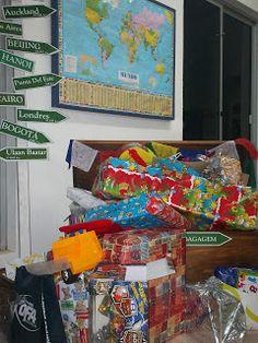 """Felipe, o pequeno viajante: festa de aniversário infantil com o tema """"viagens"""" - idéias para a decoração"""