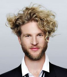 Curly Hairstyles For Men 2014