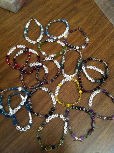 Variety Susan Bracelets With Words