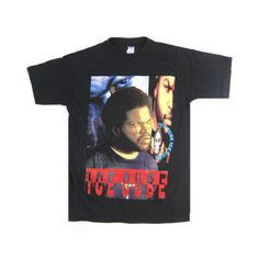 Vintage Ice Cube The Predator T-Shirt ($24,500) ❤ liked on Polyvore featuring tops, t-shirts, vintage tops, vintage t shirts and vintage tees