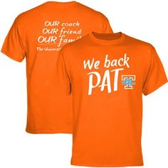 So nice for UT to support Pat Summitt.......Go Vols!