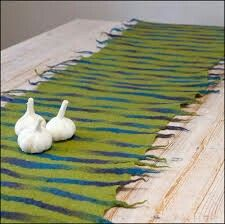 Felted Table Runner