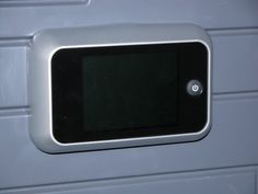 Digital Door Viewer. see more at LOFT Home & Hotel Blog