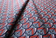 Cloud9 Fabrics Tsuru Of a Feather Indigo