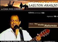 Lailton Araújo na Casa dos Cordéis. Participe!