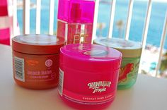 body butters are the best to keep up your tan!