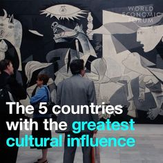 Food, art, music: Which countries have the biggest cultural influence?
