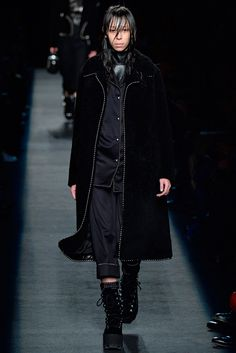 Gangsta hood pimp coats Alexander Wang Fall 2015 Ready-to-Wear - Collection - Gallery - Style.com