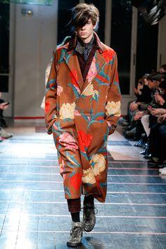 Yohji Yamamoto Fall 2014 Menswear - Collection - Gallery - Look 1 - Style.com