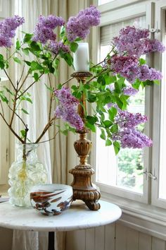 fresh Lilacs from the garden, at Rose cottages and gardens