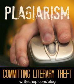 Plagiarism is literary theft. The term might be new to your students, but they understand cheating. Simply put, plagiarism is cheating at writing.