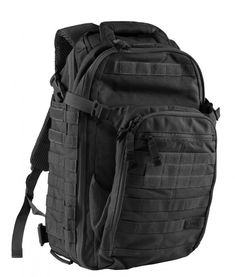 """5.11 All Hazards Prime Backpack - Black - Looking for a professional looking tactical backpack? The 5.11 All Hazards Prime Backpack is perfect for both professional and casual use. It is a dual purpose bag! The pack is extremely durable with tons of space for all your gear and your laptop (up to 17""""). Get at http://zuffel.com/collections/backpacks/products/5-11-all-hazards-prime-backpack-black"""